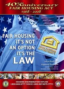2008 Fair Housing Poster